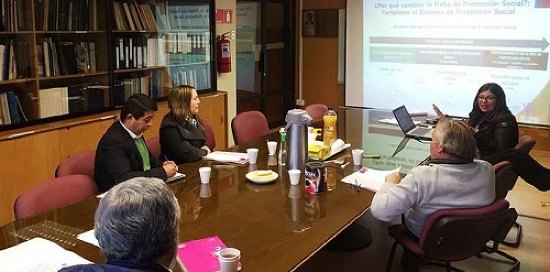 Funcionarios de la Gobernación de Copiapó se capacitaron en Registro Social de Hogares