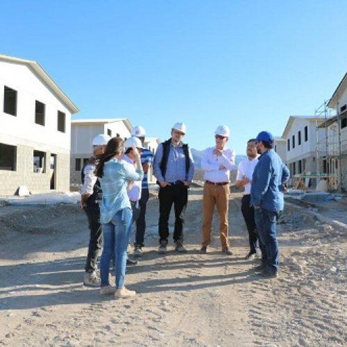 Importantes avances en obras habitacionales y urbanas del Minvu en Freirina
