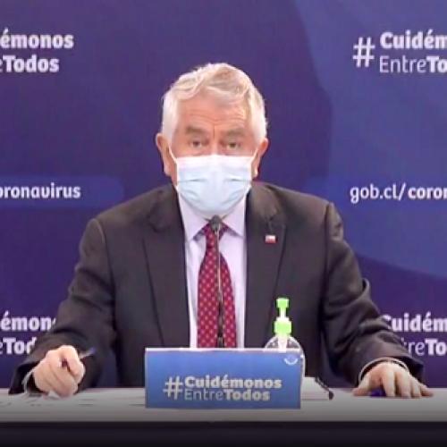 Chile reportó este lunes 3.025 nuevos casos Covid y la muerte de 76 personas
